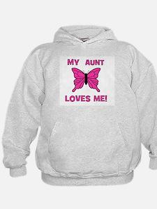 My Aunt Loves Me! w/butterfly Hoodie