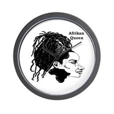 Afrikan Queen Wall Clock