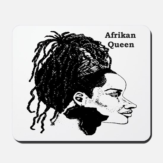 Afrikan Queen Mousepad