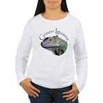 Green Iguana Women's Long Sleeve T-Shirt