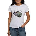 Green Iguana Women's T-Shirt