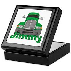 Trucker Jimmy Keepsake Box