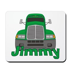 Trucker Jimmy Mousepad
