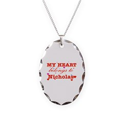 I love Nicholas Necklace