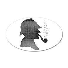 Sherlock Holmes - 22x14 Oval Wall Peel