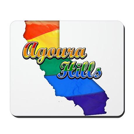 Agoura Hills, California. Gay Pride Mousepad