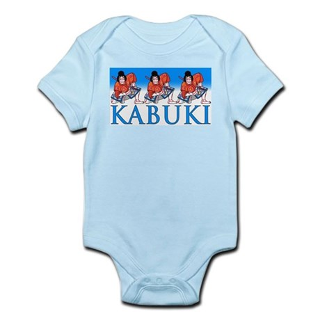 Ukiyo-e Shirt -Kabuki Actors Infant Creeper