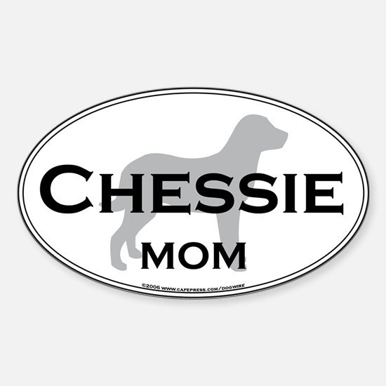 Chessie MOM Oval Decal