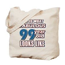 Cool 99 year old birthday designs Tote Bag