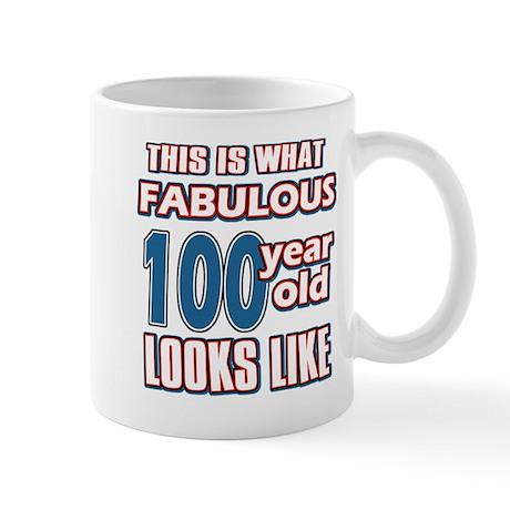 Cool 100 year old birthday designs Mug