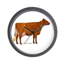 Shorthorn Trans Wall Clock