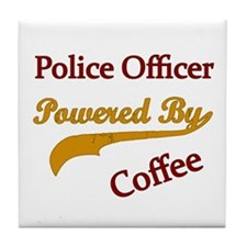 Unique Police woman Tile Coaster