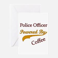 Police woman Greeting Card