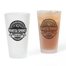 Manitou Springs Gray Drinking Glass
