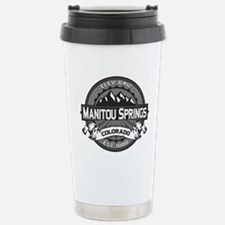 Manitou Springs Gray Stainless Steel Travel Mug