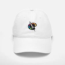 Art Shirt - 'Art Palette' Baseball Baseball Cap