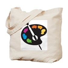 Art Shirt - 'Art Palette' Tote Bag