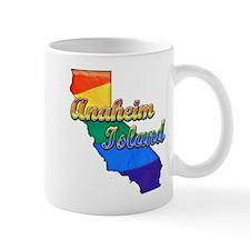 Anaheim Island, California. Gay Pride Mug