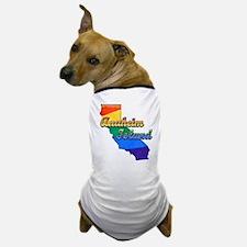 Anaheim Island, California. Gay Pride Dog T-Shirt