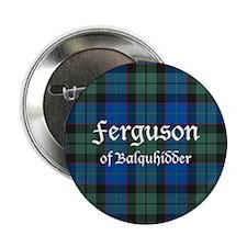 """Tartan - Ferguson of Balquhidder 2.25"""" Button (10"""