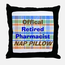 Pharmacist Humor Throw Pillow