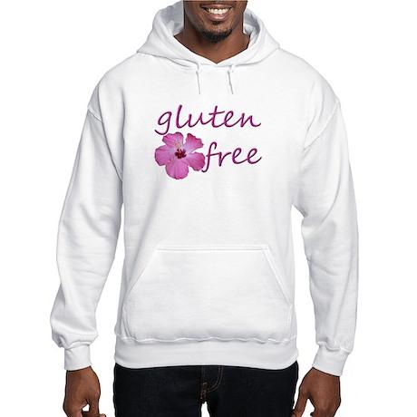Gluten-Free Hibiscus Hooded Sweatshirt