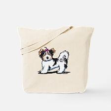 Biewer Yorkie Girl Tote Bag