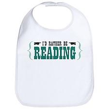 I'd Rather be Reading Bib