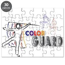 Cute Color guard flag Puzzle