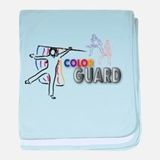 Unique Color guard baby blanket