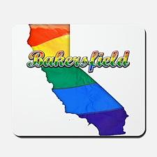 Bakersfield, California. Gay Pride Mousepad