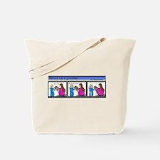 Dog Groomer Cartoon Tote Bag