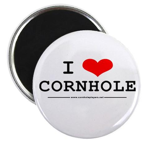 """""""I Heart Cornhole"""" Magnet"""