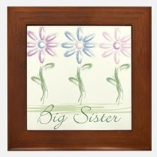 Cute Love mom Framed Tile