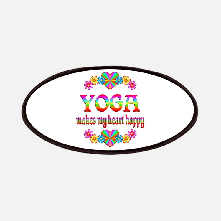 Yoga Happy Patches