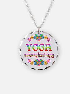 Yoga Happy Necklace
