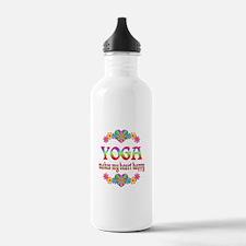 Yoga Happy Water Bottle