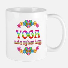 Yoga Happy Small Mugs