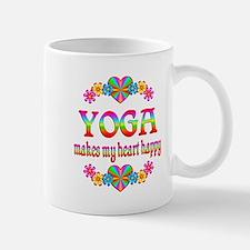 Yoga Happy Small Small Mug