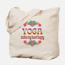 Yoga Happy Tote Bag