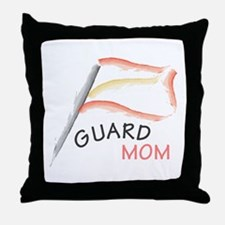 Cute Winter guard Throw Pillow
