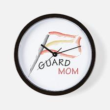 Funny Color guard Wall Clock