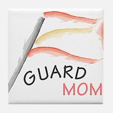 Cute Winter guard Tile Coaster