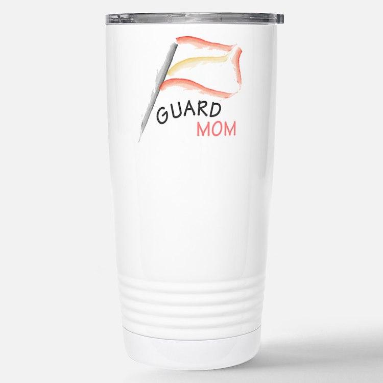 Cute Color guard mom Travel Mug