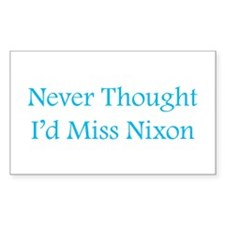 Miss Nixon Rectangle Decal