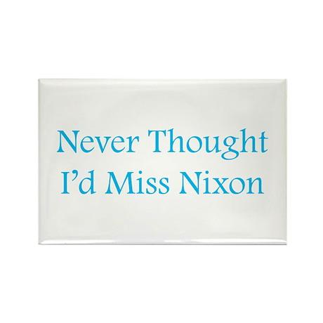 Miss Nixon Rectangle Magnet
