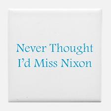 Miss Nixon Tile Coaster