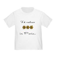 """I'D RATHER """"BEE"""" IN PARIS T"""