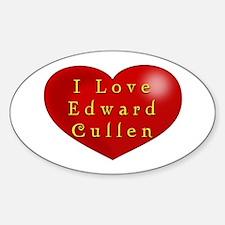I Love Edward Cullen Decal