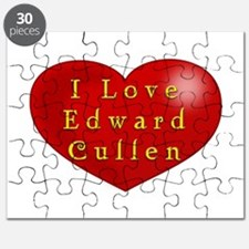 I Love Edward Cullen Puzzle